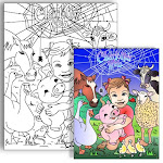 Charlotte&#39;sWeb * Personalized Coloring page