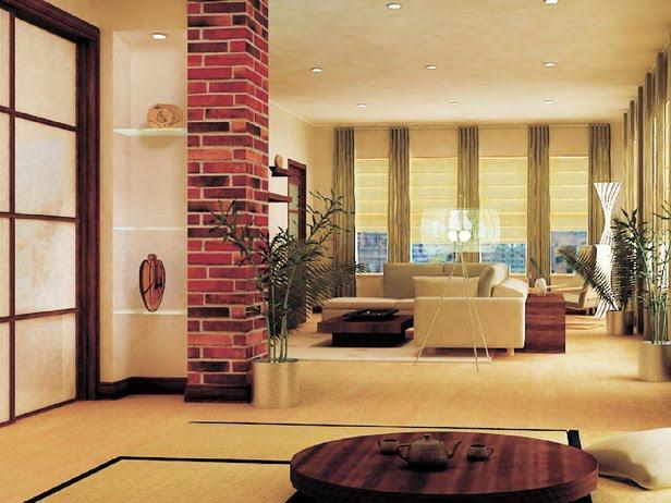 Modern Furniture Asian Living Rooms