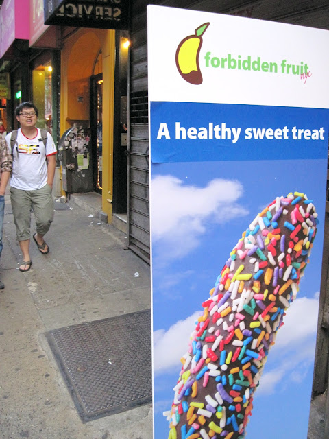 Forbidden Fruit is a yummy treat that is New In New York