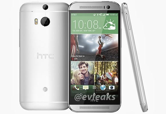 AT&T branded HTC M8 leaks