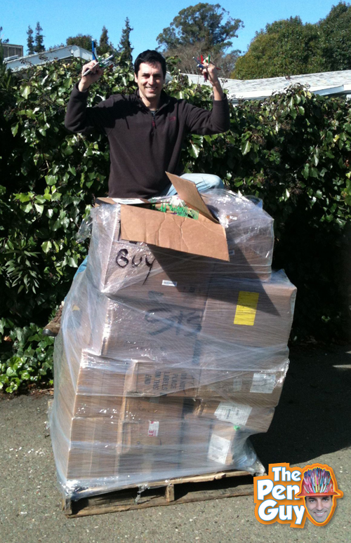 Costas Schuler and 30,000 Pens from TerraCycle