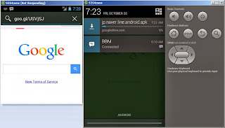 Registrasi ) Line di Emulator Android PC