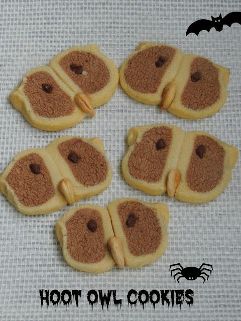 Owl Cookies, Hoot Owl cookies