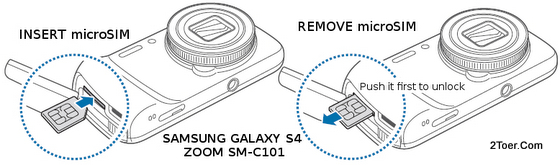 How To Insert And Remove The Micro Sim Card On Samsung