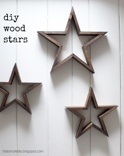 diy wood stars