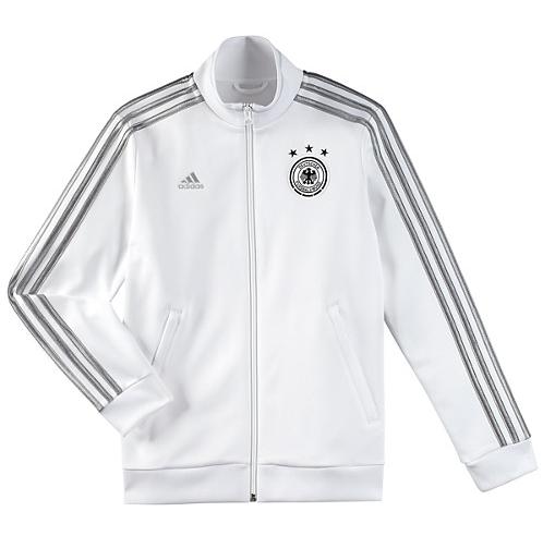 2014-15 Germany Adidas Anthem Jacket (White) Track Top