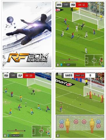 permainan Real Football 2014