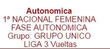 1º NACIONAL FEMENINA