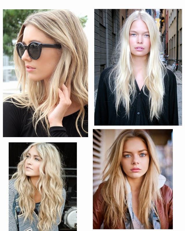 blond hair inspiration