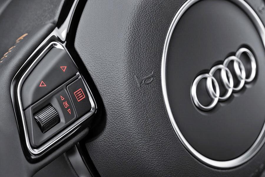 Novo Audi A3 mantem o controle no volante