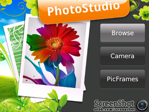 Photo Studio, Aplikasi Edit Foto Untuk Blackberry480
