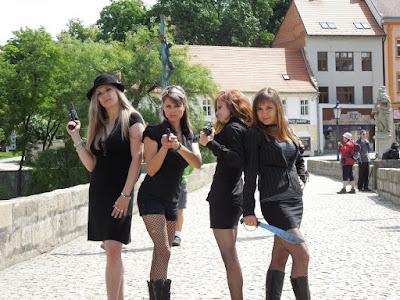 Kvarteto na kamenném mostě