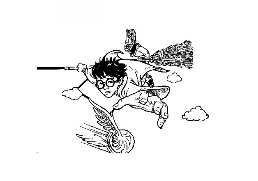 Fun Coloring Pages Harry Potter Coloring Pages