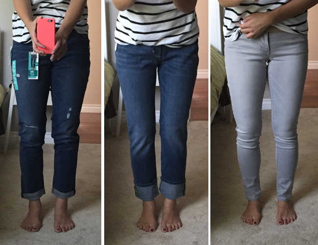 Skinny jeans from old navy