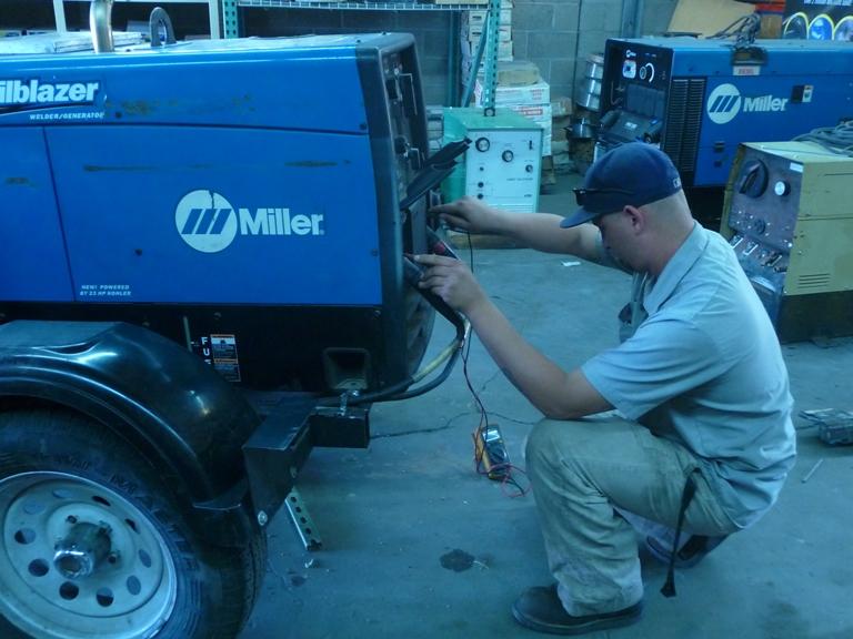 welding machine calibration services