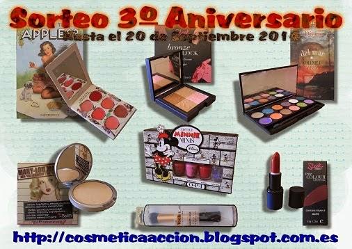 ¡SORTEO – Tercer Aniversario del Blog!
