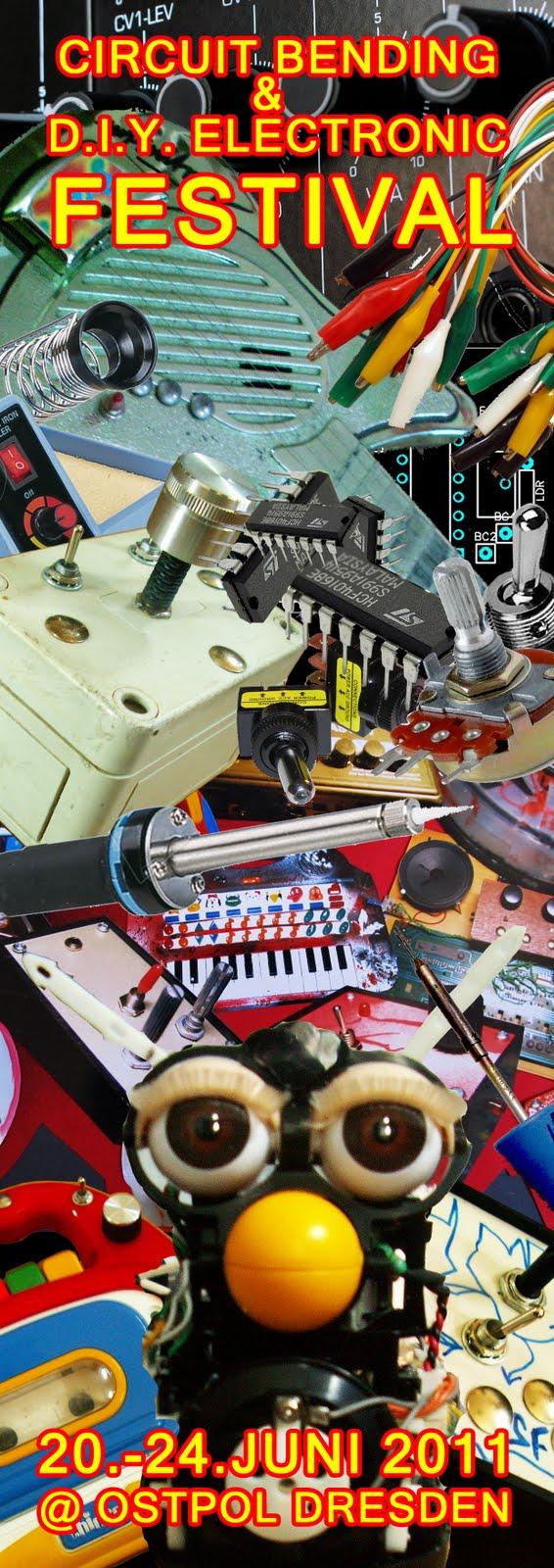 Schrgerunde 20 2462011 1diy Electronic Circuit Bending How To Build Diy Festival Dresden
