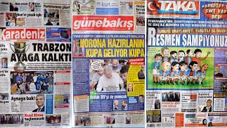 Trabzon Yerel Basında Keyifler Yerinde