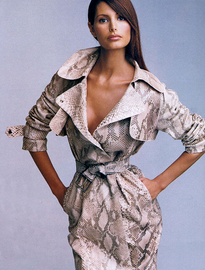 Elsa Benitez in Marie Claire US March 2000 (photography: Patrick Demarchelier, styling: Carlyne Cerf de Dudzeele) via fashioned by love
