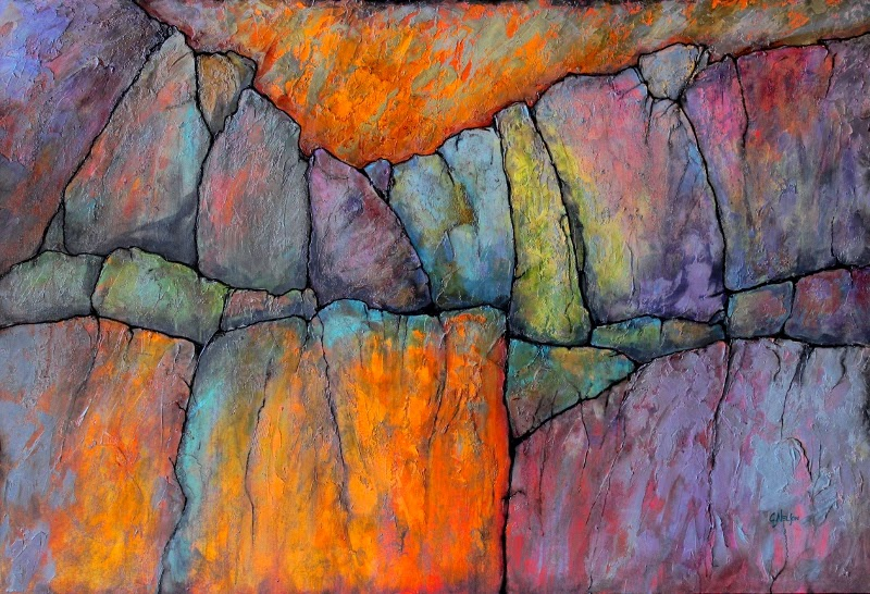 sold  by Carol Nelson C Abstract By Carol Nelson Carol Nelson Fine