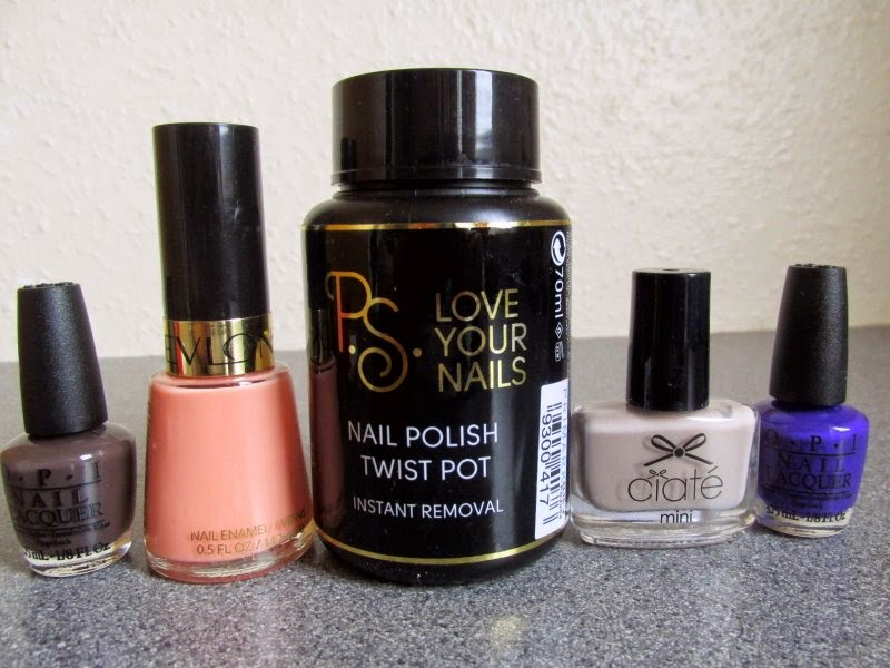 primark beauty nail varnish remover twist pot