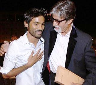 Dhanush's next Bollywood film with Big B and Akshara Haasan
