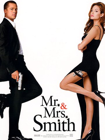 Regarder film mr. et mrs. smith streaming