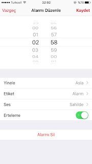 iPhone Alarm Sesi