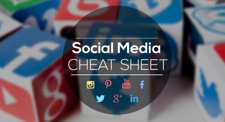 Complete #SocialMedia Sizing Cheat Sheet - #infographic #design