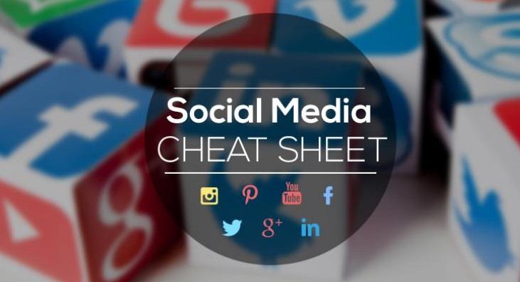 Complete #SocialMedia Sizing Cheat Sheet - #infographic #design