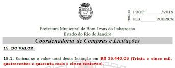 Homologado contrato de R$ 34.144,00 para execução do PELC – Olho vivo neste programa!