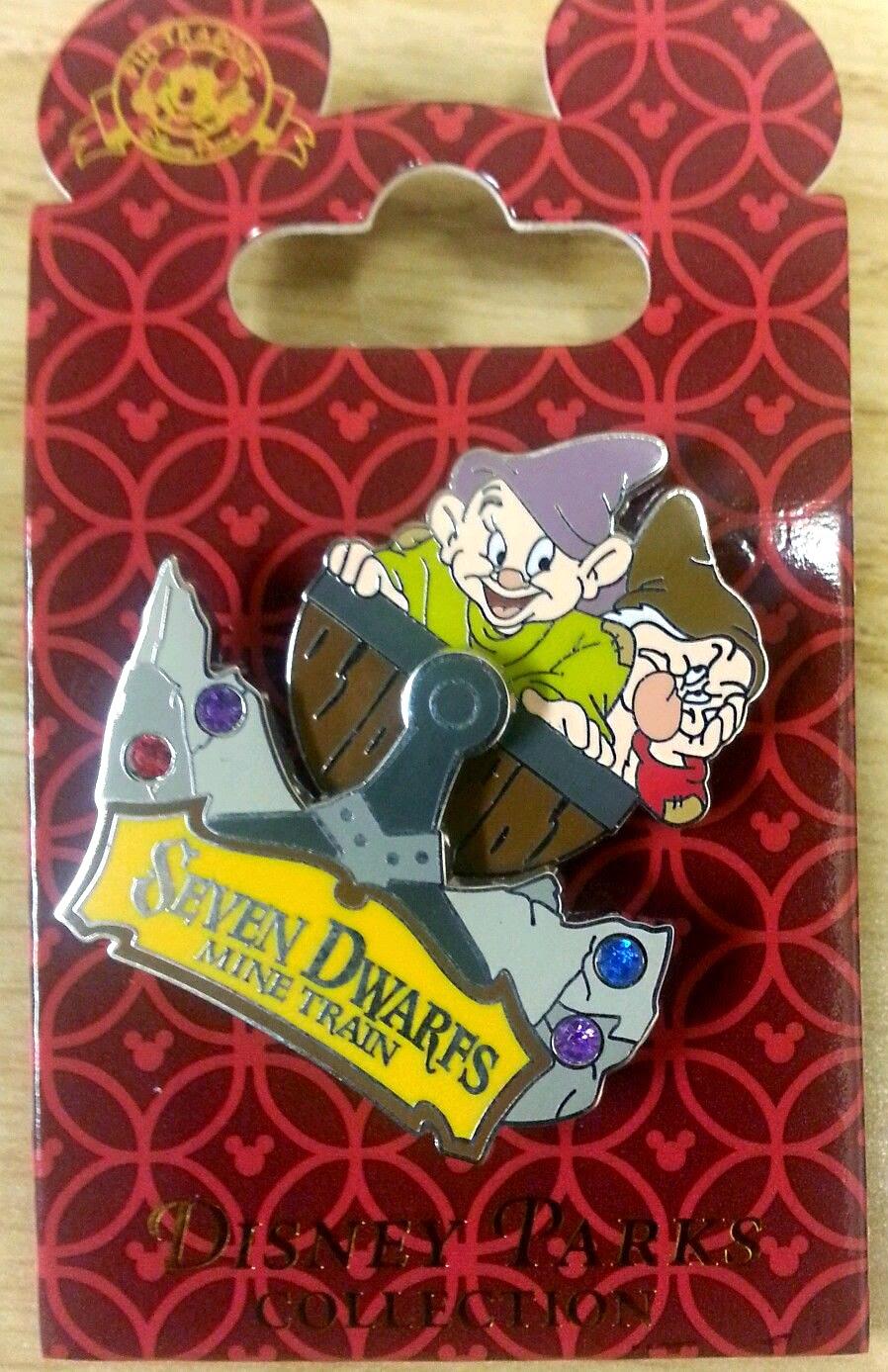 7 dwarfs mine train pins