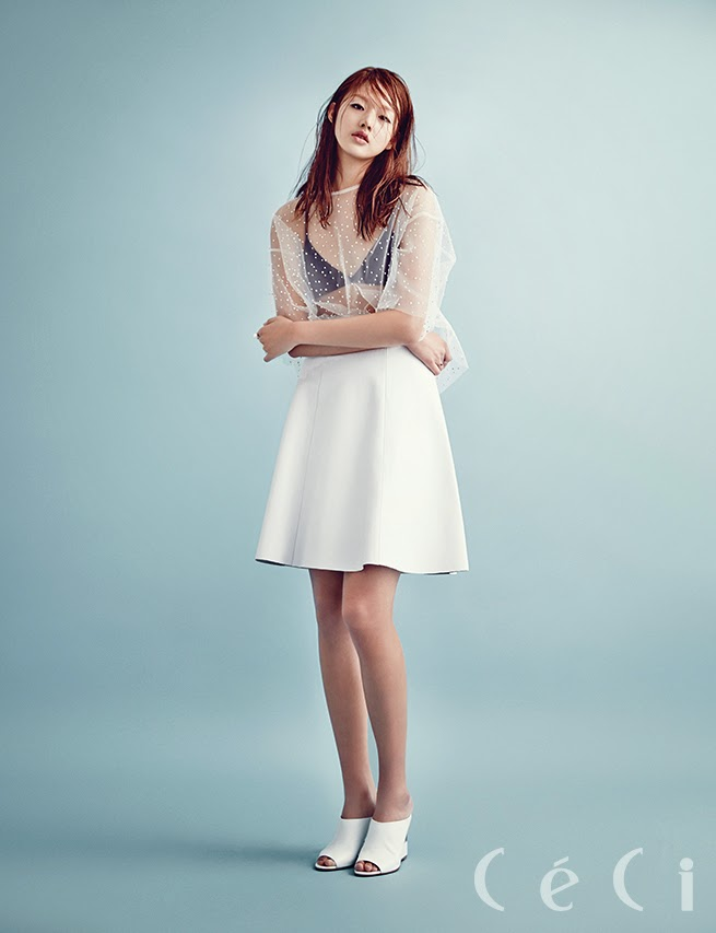 Choi Ara - Ceci Magazine January Issue 2014