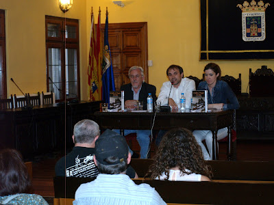 Presentacin en el Ayuntamiento de Tarazona