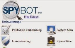 Spybot search destroy spyware finden und l schen for Klassisches haushaltsbuch