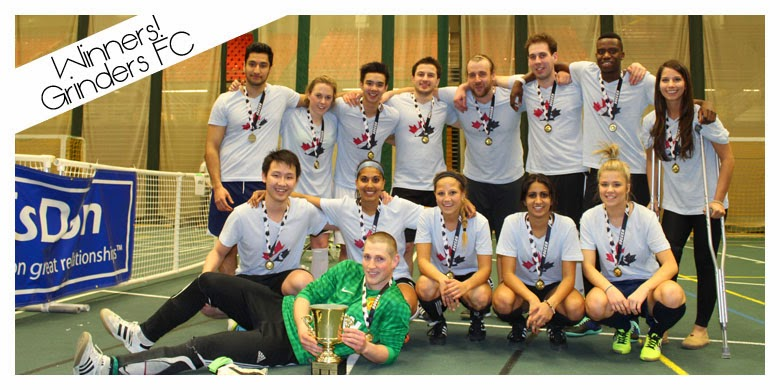 Winners of the Power Play Cup - University of Alberta Campus Food Bank