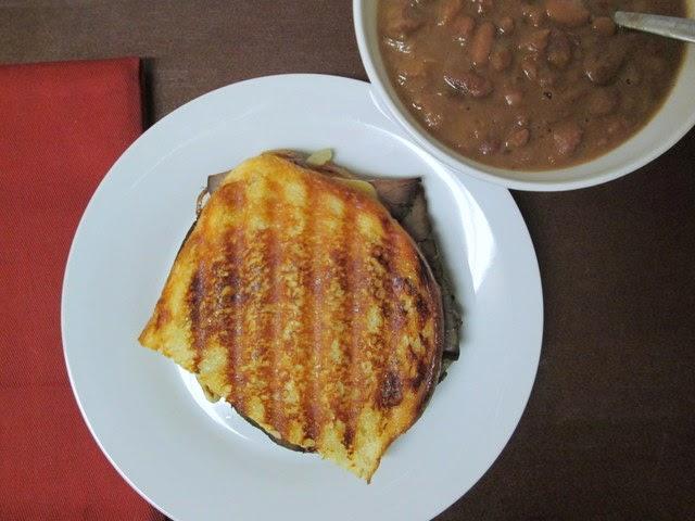 roast beef and smoked gouda
