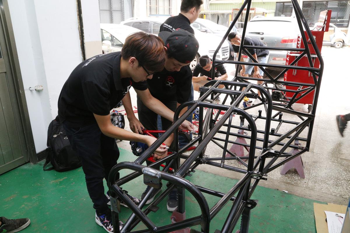 培育未來的種子:台北科技大學Formula SAE Japan 賽前 ...