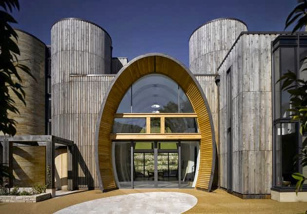 TOP 7 UNIQUE HOUSE DESIGN: INTERESTING HOUSE DESIGN THAT INCORPORATED UNUSUAL ARCHITECTURAL FEATURES UNUSUAL TEXTURES AND ARTFUL USE
