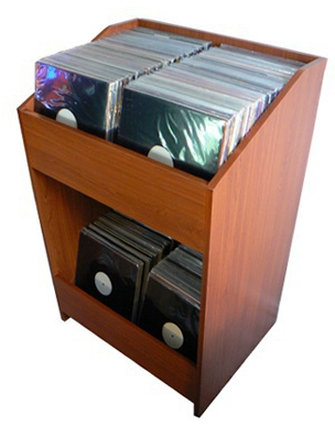 LP storage bins