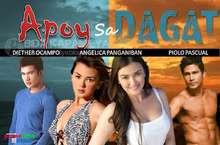 Apoy Sa Dagat Romance Drama TV Series | Fire at Sea television drama ABS-CBN