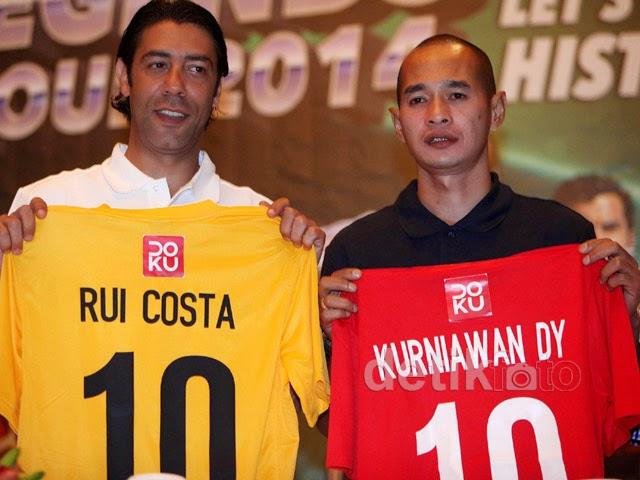 Indonesia All Star Lawan Tim Football Legends