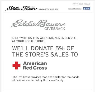 Nov. 2, 2012 Eddie Bauer email