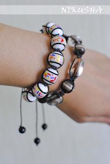 браслет шамбала на руке