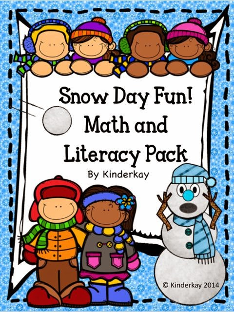 http://www.teacherspayteachers.com/Product/Snow-Day-Fun-Literacy-Math-and-Craftifity-1622291