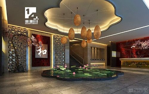 modern chinese home interior lighting designs