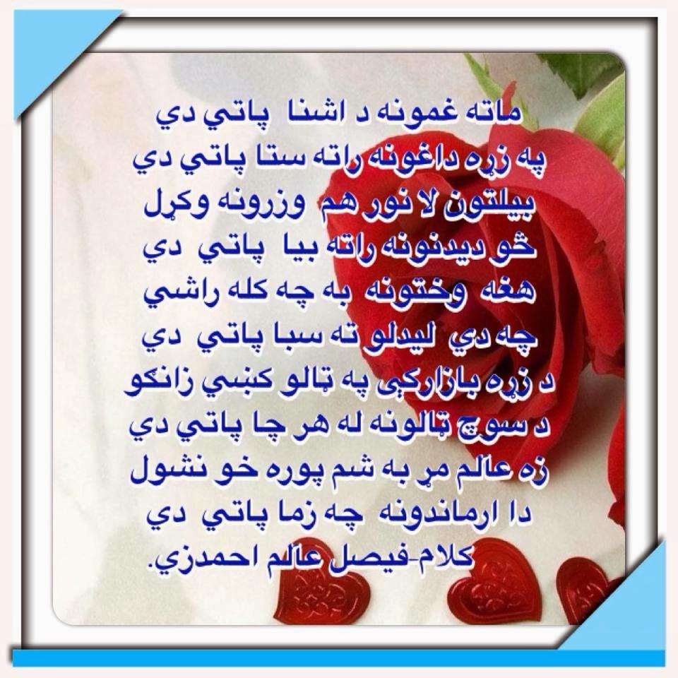 pashto poetry shairona shair