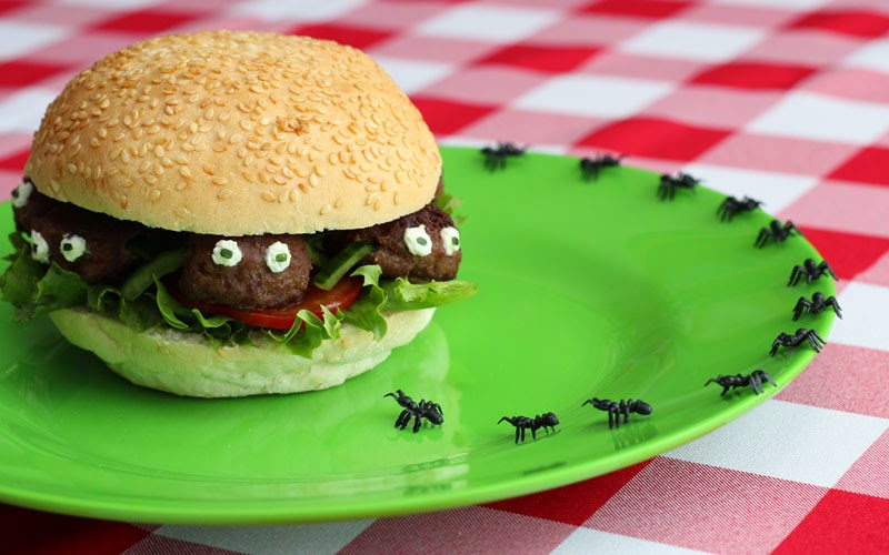 bug burgers - Food Design Ideas