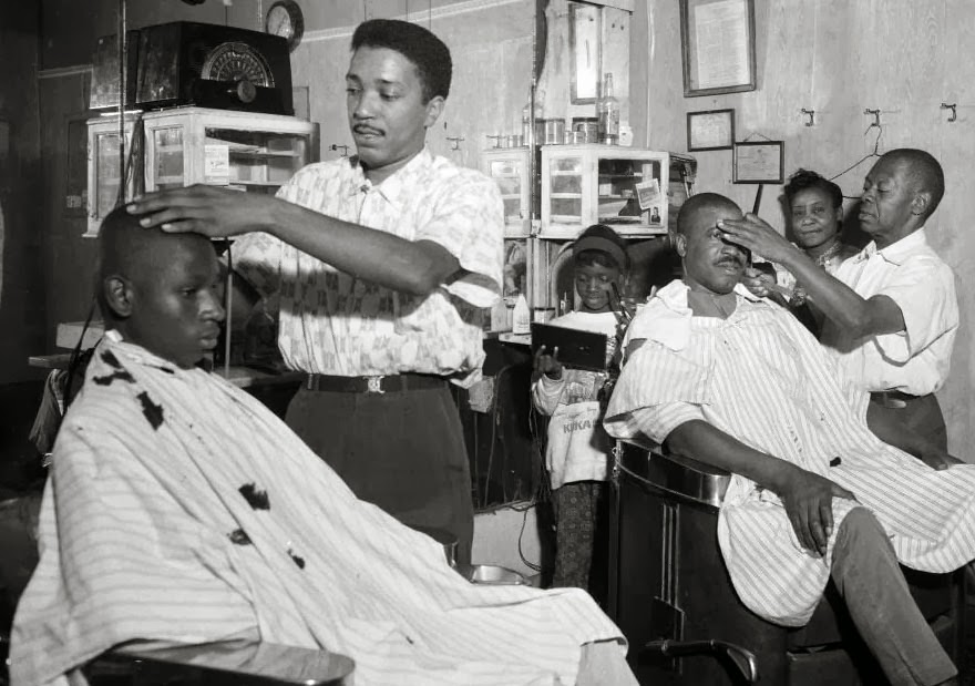 Barber Shop Black : Black Barbershop History