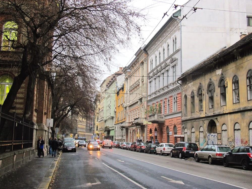 Budapest street, Hungary